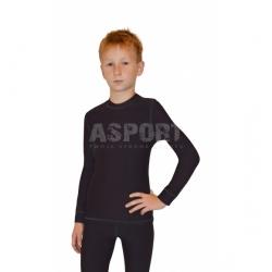 Koszulka dziecięca, termoaktywna, długi rękaw TOP JUNIOR SHIRT WARMline Gwinner