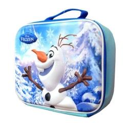 Torebka piknikowa, śniadaniowa, na lunch, wzór 3D FROZEN - OLAF
