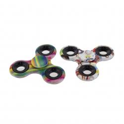 Fidget spinner plastikowy, zabawka obrotowa, zręcznościowa