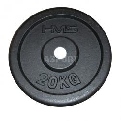 Obciążenie żeliwne, talerz 20kg HMS