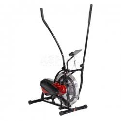 Orbitrek powietrzny, trenażer HP6513 czarno-czerwony