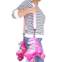 Pasek do transportu rolek różowa