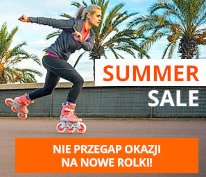 Summer Sale. Nie przegap okazji na nowe rolki!
