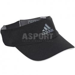 Daszek przeciwsłoneczny, sportowy, do tenisa CF6920 czarny Adidas