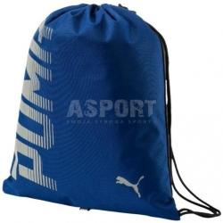 Worek, plecak na buty sportowe PIONEER GYM SACK niebieski Puma