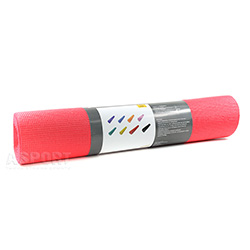 Mata do jogi, do ćwiczeń fitness SLIM 173x61x0,5 cm koralowa PROfit