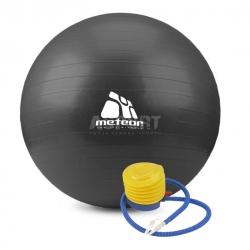 Piłka gimnastyczna, fitness, do ćwiczeń 75cm + pompka Meteor