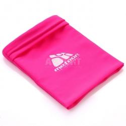 Opaska na nadgarstek, kieszonka na telefon, portfel, odblaskowa różowa Meteor