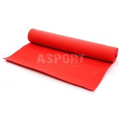 Mata do ćwiczeń, jogi, fitness 173x61 YOGA czerwona Meteor