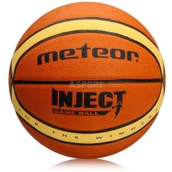 Piłka do koszykówki, kosza rozmiar 5 INJECT Meteor
