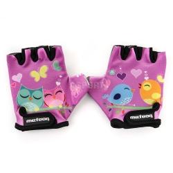 Rękawiczki dziecięce, rowerowe OWL JR Meteor