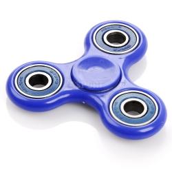 Fidget spinner z łożyskami, zabawka obrotowa 71712 niebieski