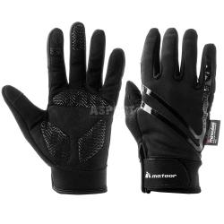 Rękawiczki sportowe WX 201 czarne Meteor