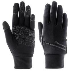 Rękawiczki sportowe WX 550 czarne Meteor
