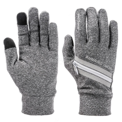Rękawiczki sportowe WX 551 szare Meteor