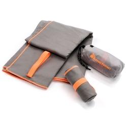 Ręcznik szybkoschnący XL 110x175 cm szary Meteor