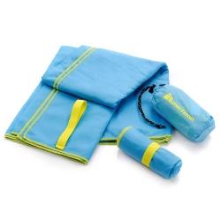 Ręcznik szybkoschnący XL 110x175 cm niebieski Meteor