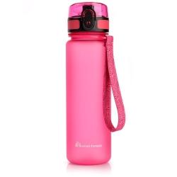 Butelka na wodę Bidon 500 ml różowa Meteor