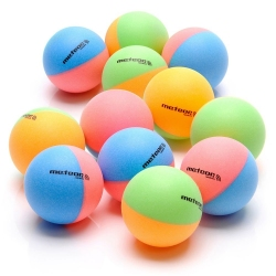 Piłeczki do tenista stołowego RAINBOW 12 szt. kolorowe