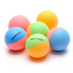 Piłeczki do tenisa stołowego RAINBOW 6 szt. kolorowe