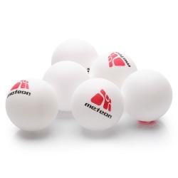 Piłeczki do tenista stołowego RAINBOW 6 szt. białe