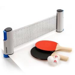 Zestaw do tenisa stołowego ROLLNET 2 rakietki + 3 piłeczki