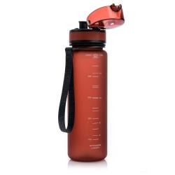 Butelka na wodę Bidon 500 ml czerwona Meteor