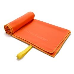 Ręcznik szybkoschnący L 80x130 cm pomarańczowy Meteor