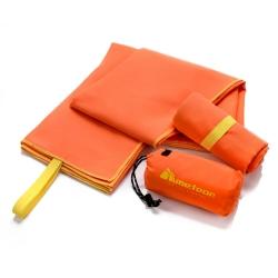 Ręcznik szybkoschnący XL 110x175 cm pomarańczowy Meteor