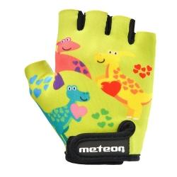 Rękawiczki rowerowe JUNIOR DINO Meteor