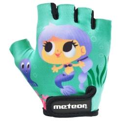 Rękawiczki rowerowe JUNIOR MAGIC Meteor