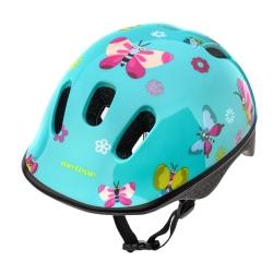 Kask ochronny, dziecięcy, rowerowy KS06 BUTTERFLIES