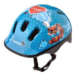 Kask ochronny, dziecięcy, rowerowy KS06 KITTY
