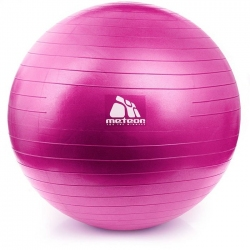 Piłka gimnastyczna, fitness, do ćwiczeń 55cm + pompka Meteor