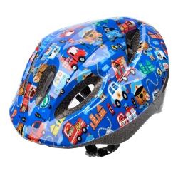 Kask dziecięcy, ochronny, rowerowy, na rolki KS05 safe city