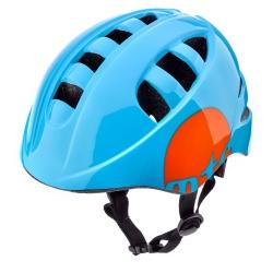Kask rowerowy z regulacją KS08 MTR niebieski
