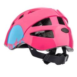 Kask rowerowy z regulacją KS08 MTR różowy