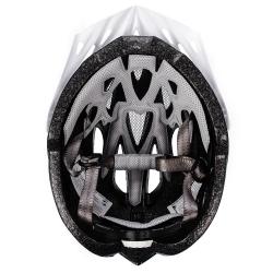 Kask rowerowy GRUVER granatowo-biały Meteor