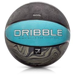 Piłka koszowa Dribble rozmiar 7 niebiesko-szara Meteor