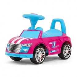 Jeździk dziecięcy RACER różowo-niebieski Milly Mally