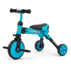 Rowerek dziecięcy 2w1 Grande Blue Milly Mally