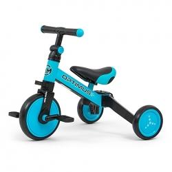 Rowerek dziecięcy 3w1 Optimus niebieski Milly Mally