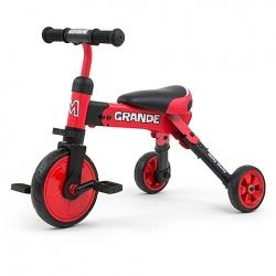 Rowerek dziecięcy 2w1 Grande Red Milly Mally