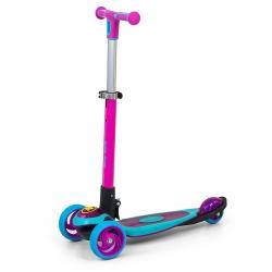 Hulajnoga trójkołowa Scooter Micmax różowo-niebieska Milly Mally