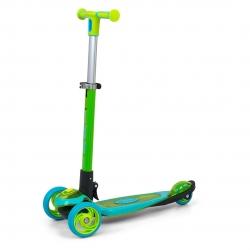 Hulajnoga trójkołowa Scooter Micmax zielona Milly Mally