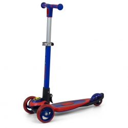 Hulajnoga trójkołowa Scooter Micmax niebiesko-czerwona Milly Mally