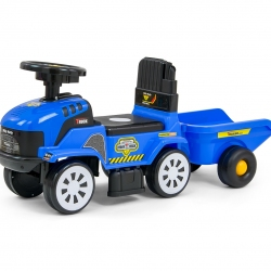 Jeździk Rolly Plus niebieski Milly Mally