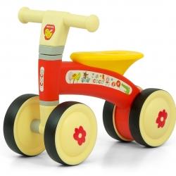 Rowerek dziecięcy Jeździk Pojazd Coco Red Milly Mally
