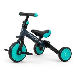 Rowerek dziecięcy 3w1 Optimus miętowy Milly Mally