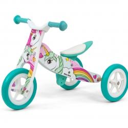 Rowerek dziecięcy 2w1 Look Unicorn Milly Mally